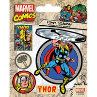 Thor Sheet of 5 Vinyl Stickers