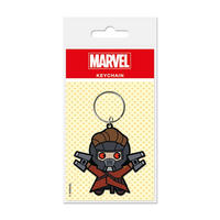 Kawaii Star Lord PVC Keyring Thumbnail 1