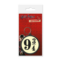 Harry Potter Platform 9 3/4 PVC Keyring Thumbnail 1