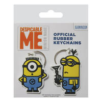 Despicable Me 2 Pack of Minions Keyrings
