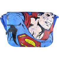 Superman Close Up Messenger Bag Thumbnail 1