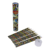 DC Comics Set of 12 Colouring Pencils Thumbnail 1
