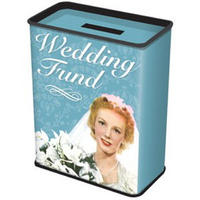 Wedding Fund Tin Money Box