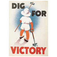 Dig For Victory (Boy) Postcard