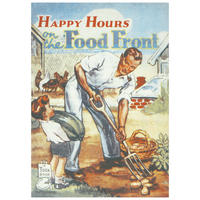 Happy Hours On The Food Front Postcard