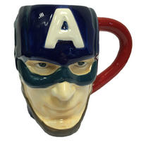 Captain America 3D Shaped Mug Thumbnail 1