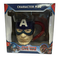 Captain America 3D Shaped Mug Thumbnail 2