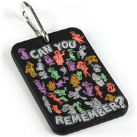 "Hanna Barbera ""Can You Remember?"" Luggage Tag Thumbnail 1"