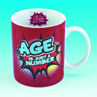 Age Is Just A Number? Mug