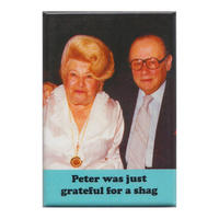 Peter Was Just Grateful For A S*** Fridge Magnet