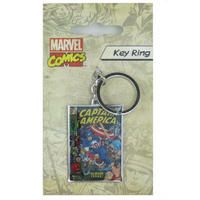 Captain America Comic Cover Metal Keyring Thumbnail 1