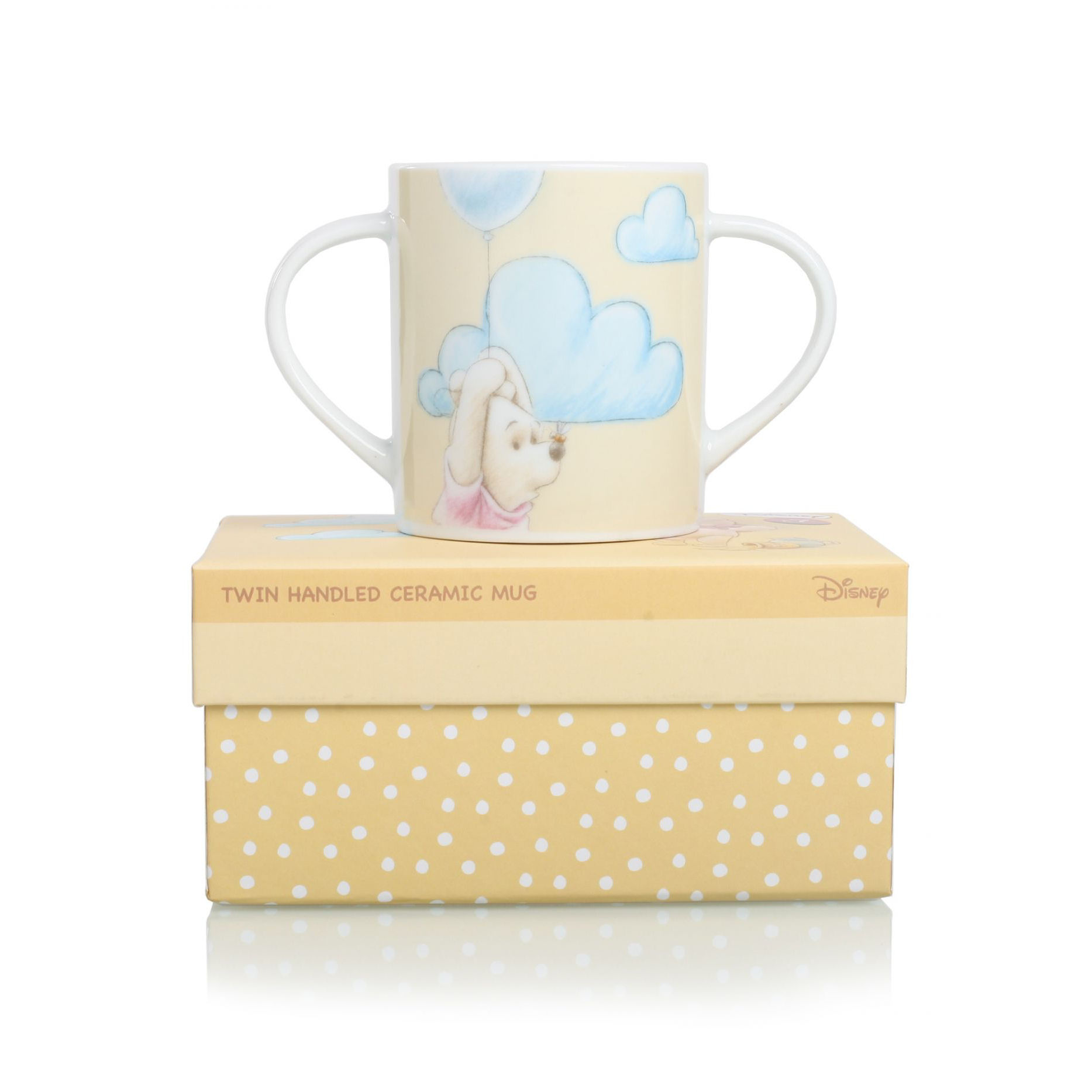 Winnie The Pooh Two Handled Cup