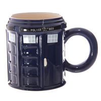 Police Box Round Shaped Mug Thumbnail 2