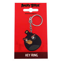 Angry Birds Keyring (Black)