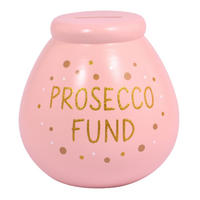 Prosecco Fund Ceramic Pot Of Dreams Money Box