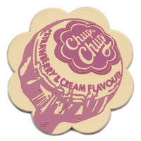 Chupa Chups Pink PVC Shaped Coaster