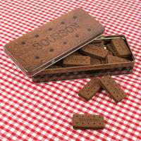 Bourbon Cream Rectangle Biscuit/Cake Tin Thumbnail 3