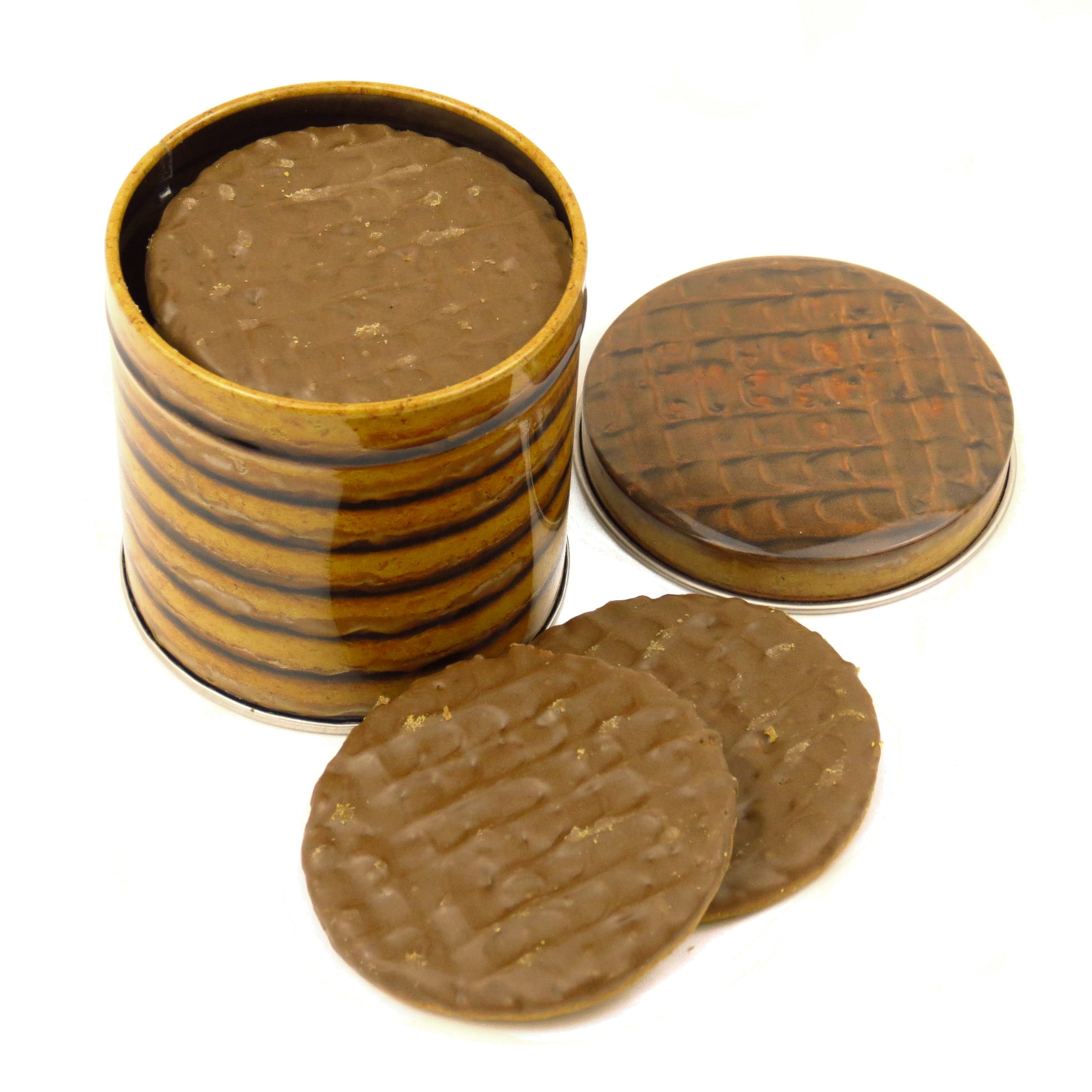 Chocolate Digestive Small Biscuit Tin