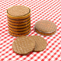 Chocolate Digestive Small Biscuit Tin Thumbnail 3