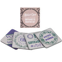 Suffragettes Coaster Set (4 Coasters)