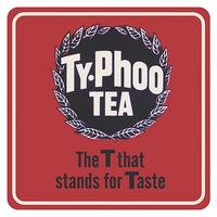 "Typhoo Tea ""The T Stands For Taste"" Single Coaster"