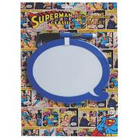 Superman Speech Bubble Dry Wipe Memo Board Thumbnail 1