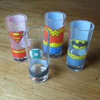 Justice League America Set of 4 Glasses Thumbnail 2