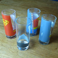 Justice League America Set of 4 Glasses Thumbnail 3