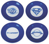 Superman Collection Set of 4 Espresso Cups & Saucers Thumbnail 6