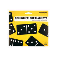 Dominoes Set Of 56 Die Cut Magnets