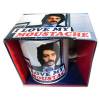 I Love My Moustache Boxed Mug Thumbnail 1