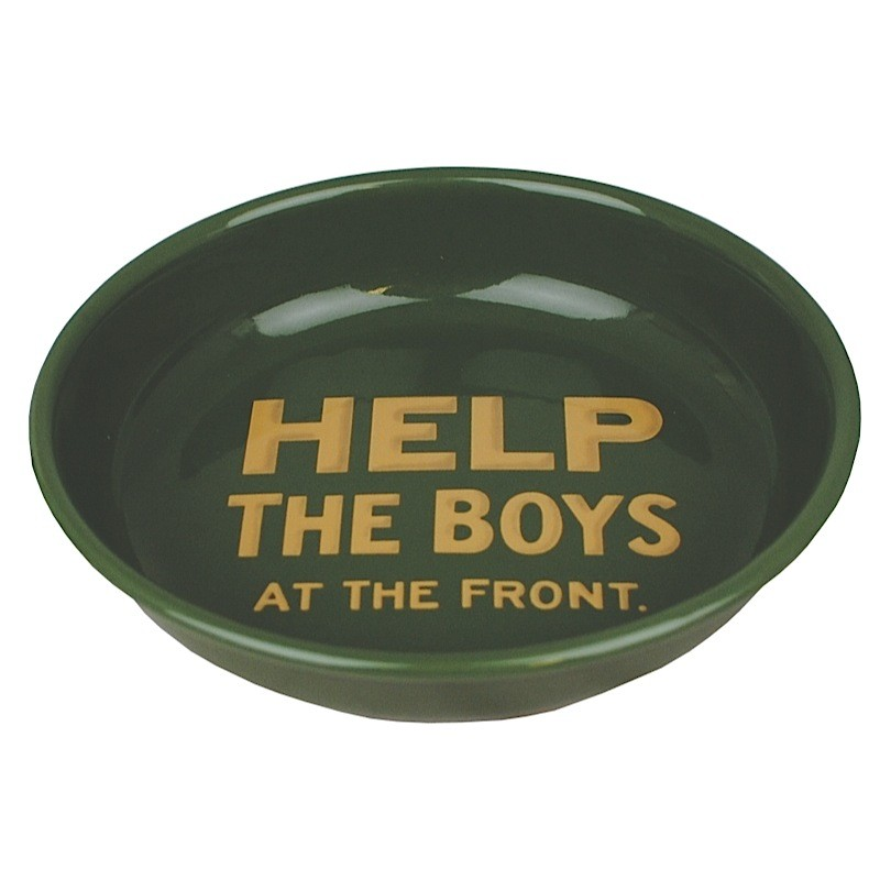 Help The Boys At The Front Enamel Bowl