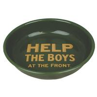 Help The Boys At The Front Enamel Bowl Thumbnail 1