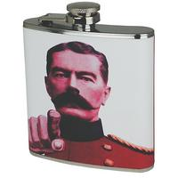 You Are The Man I Want Stainless Steel Hip Flask Thumbnail 1