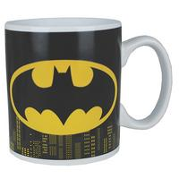 Batman Logo & Gotham Skyline Heat Change Mug Thumbnail 1