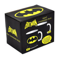 Batman Logo & Gotham Skyline Heat Change Mug Thumbnail 3