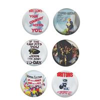 Set of 6 WW1 Imagery Glass Magnets