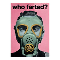Who Farted? Postcard