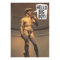 Hello Big Boy Postcard