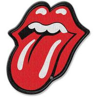 Rolling Stones Classic Tongue Iron On Patch