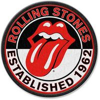 Rolling Stones Established 1962 Iron On Patch