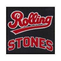 Rolling Stones Varsity Team Logo Sew On Patch