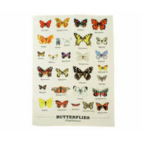 Butterfly Species Tea Towel Thumbnail 1
