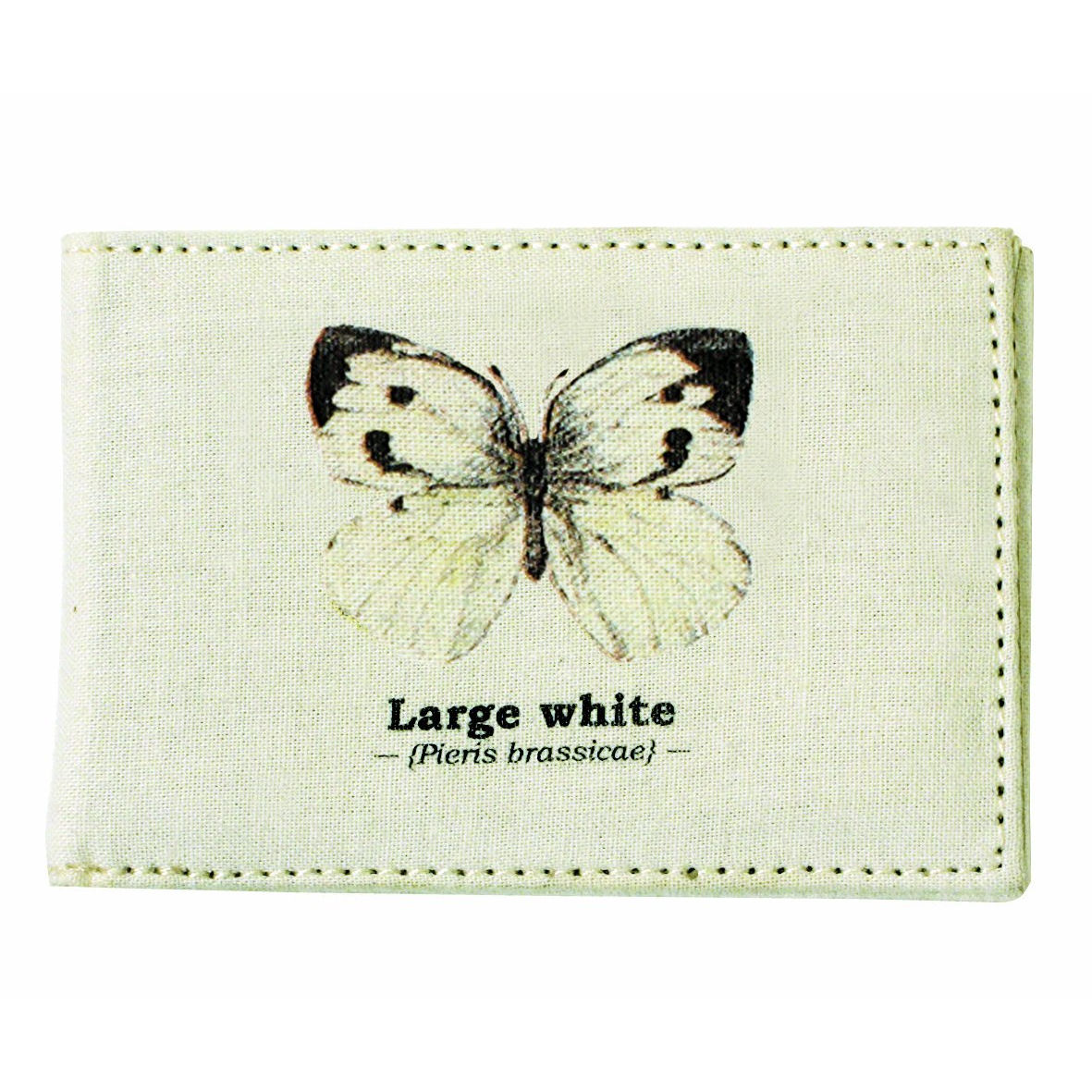 Large White Butterfly Travel/Oyster Card Holder