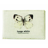 Large White Butterfly Travel/Oyster Card Holder Thumbnail 1