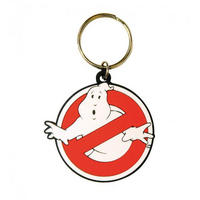 Ghostbusters Logo Rubber Keyring Thumbnail 1