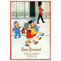 Beau Brummel Tailored Coats Postcard