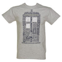 Tardis Quotes T-shirt Thumbnail 1