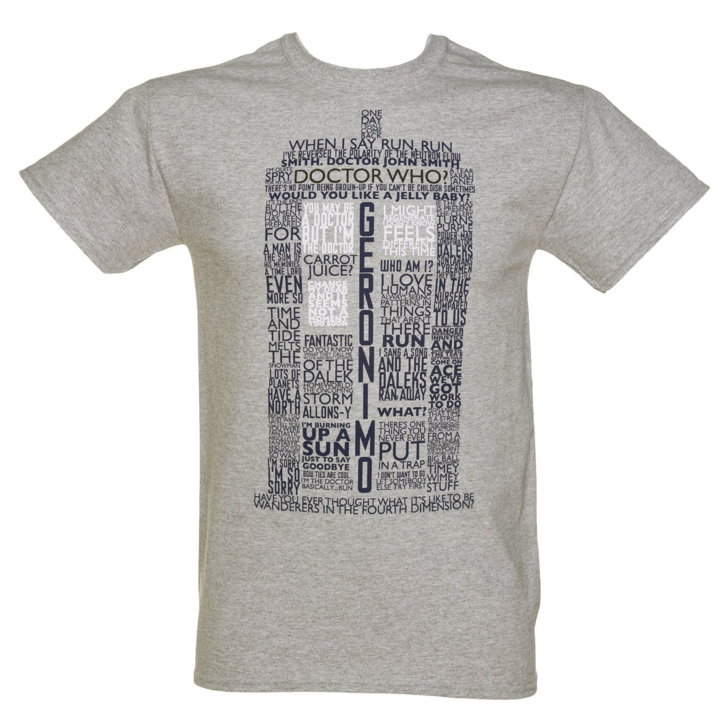 Tardis Quotes T-shirt