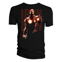 Iron Man Glowing Hand & Chest T-shirt
